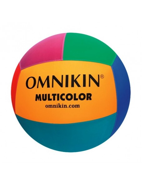 Ballon de Kin-ball Omnikin Multicolore, ballon léger de kin ball multicolore