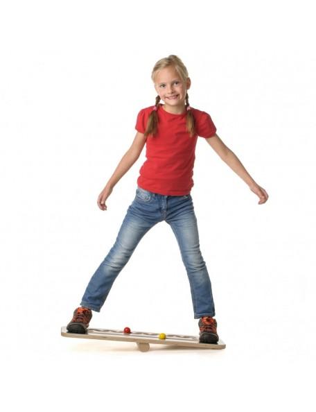"""Planche d'équilibre """"la course"""" en bois - 1"""