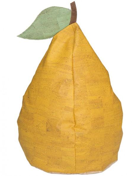 Pouf poire en liège écologique - 1