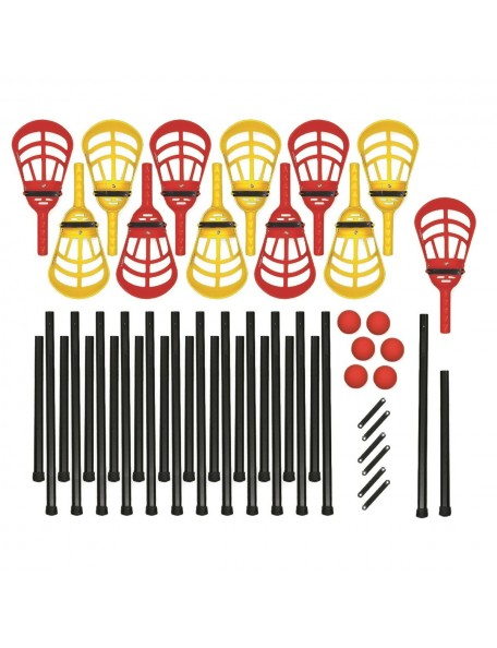 Kit lacrosse évolutif, soft crosse Québécoise