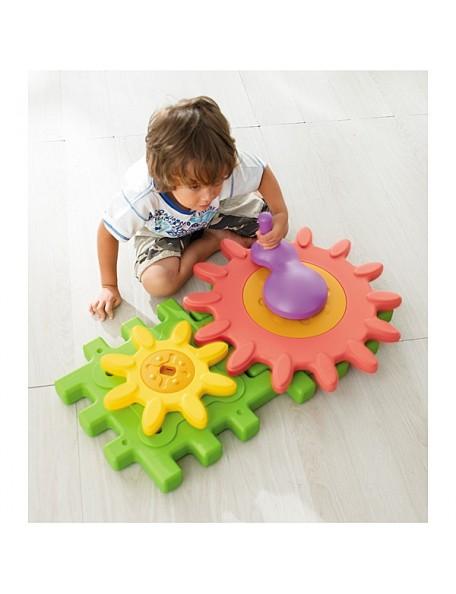 Blocs géants de construction engrenage, blocs engrenage à assembler pour la motricité des enfants