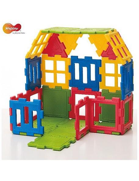 56 mini-blocs de construction à assembler pour la psychomotricité des enfants