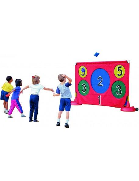 Mur cible géant à viser, pour jeux de lancer et précisions