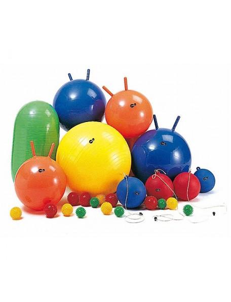 La gymnastique géante des enfants, ensemble de gros ballons pour la gymnastique des enfants