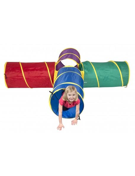 Tunnel carrefour pour la motricité des enfants. Grand tunnel carrefour Spordas de qualité.