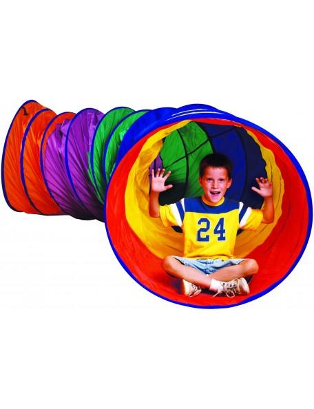 Méga tunnel de jeux de psychomotricité pour les enfants. Tunnel de jeux de grandes dimensions