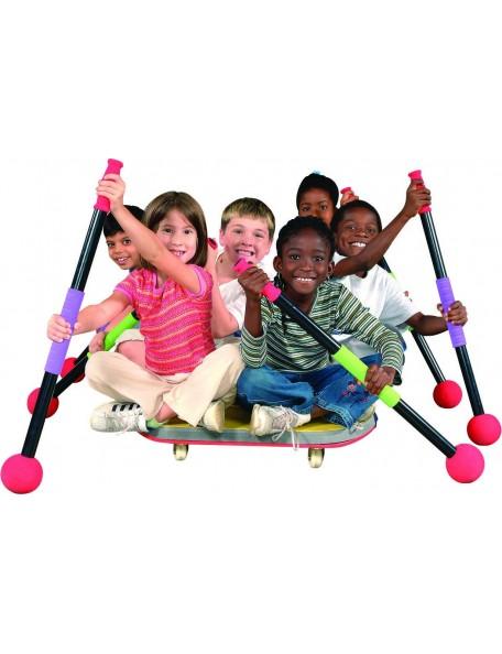 Pagaies pour scooter ergonomique, jeux de mobilité et motricité des enfants