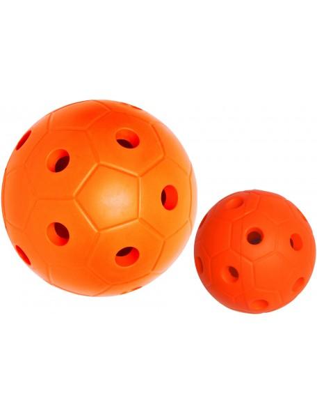 Balle à grelots sensorielle pour pratique handisport. Balle à grelots sonore handisport de qualité.