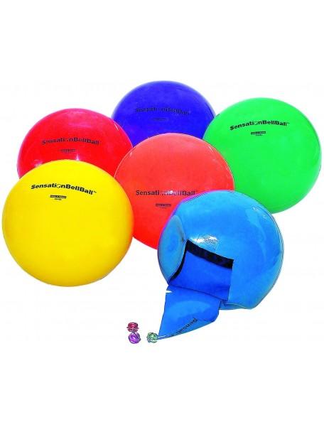 Lot de 6 balles sonores pour jeux handisport