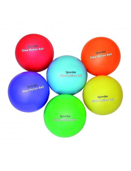 Lot de 6 ballons lestés multicolores, ralentis avec du sable pour les jeux handisport
