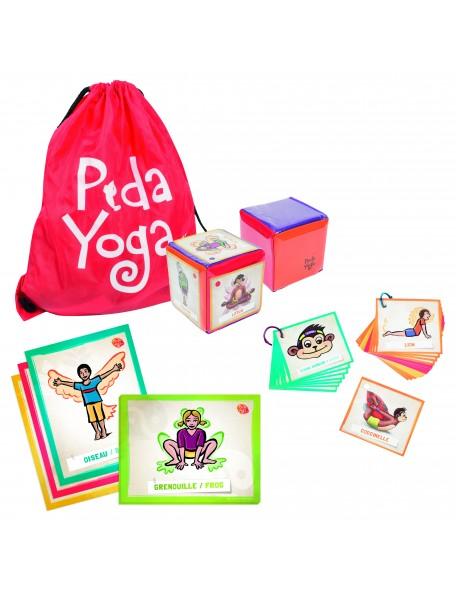 Kit de yoga Péda-yoga pédagogique pour les enfants