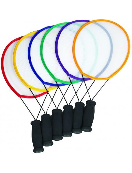 6 raquettes de tennis initiation pour enfant. 6 raquettes de tennis en mousse pour enfants