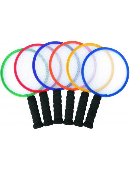 6 raquettes Spordas de tennis de table ou ping-pong pour l'initiation des enfants