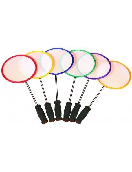 6 raquettes de badminton d'initiation pour le badminton des enfants. 6 raquettes badminton Spordas à acheter au meilleur prix