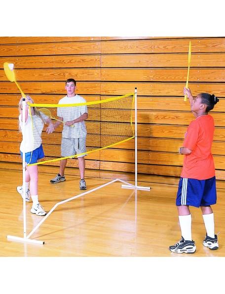 Filet de badminton facilement transportable pour jeu de badminton des enfants