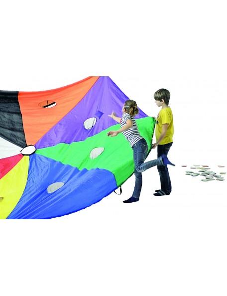 Jeu du parachute Nutrimove Spordas, jeu coopératif Nutrimove parachute pour enfants